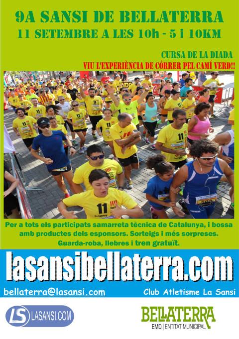 9ª Sansi popular de la diada a Bellaterra 11/09/21