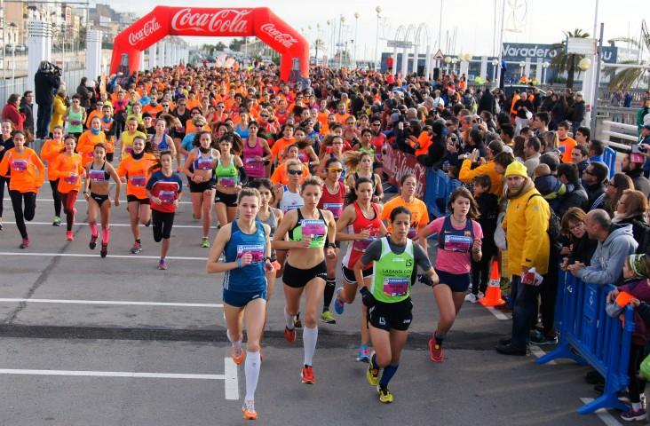 Ait Khamouch y Jelena Abele ganan la 35ª San Silvestre del Masnou con cerca de 1.900 llegados