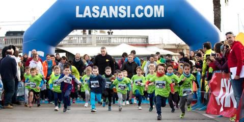 Reconocimiento a Laura Luelmo en la única San Silvestre para mujeres en España. San Silvestre del Masnou 26/12/18 llegando a los 1.900 inscrit@s