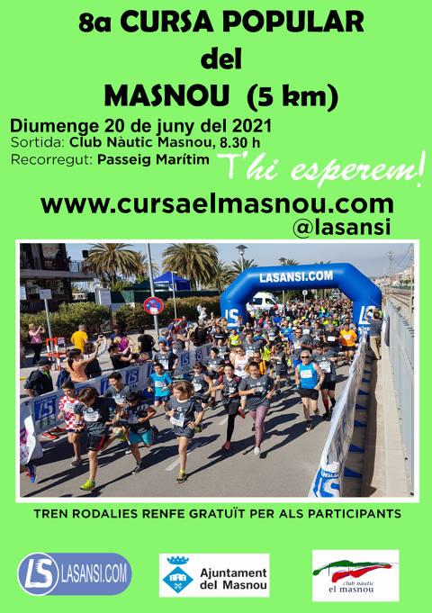 Inscripcions obertes a la CURSA POPULAR DEL MASNOU 20/06/21