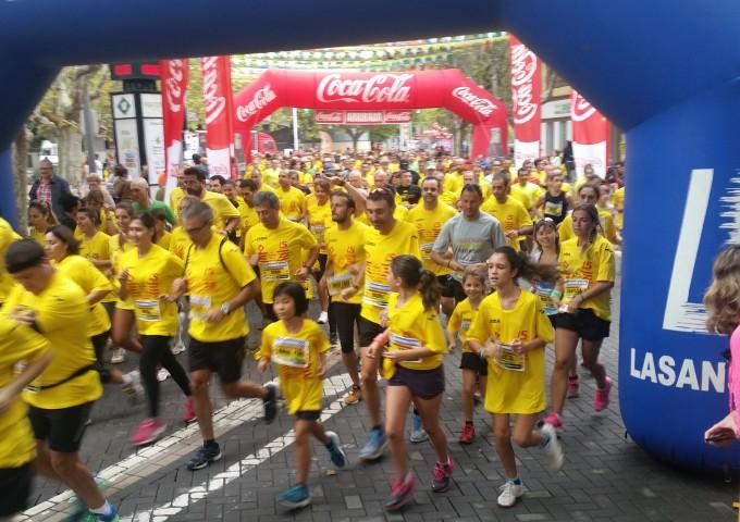 4a Cursa de la Diada a Bellaterra, la cursa més participativa de Catalunya.