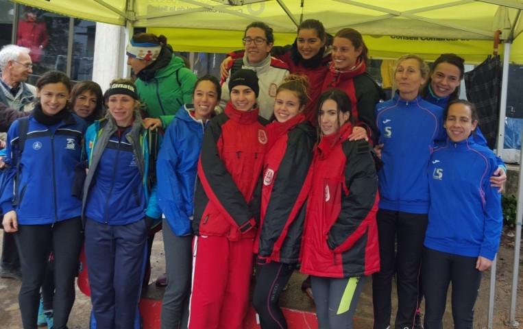 Campionat català de cros Curt a Riudellots