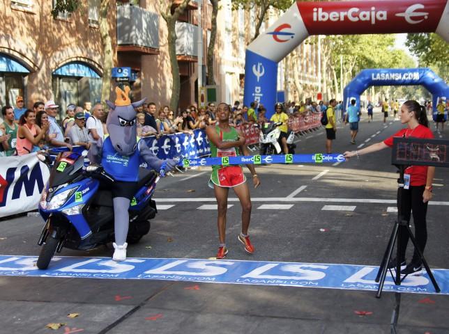 Abdessamad Hemmi i Miriam Ortiz guanyen la XXV Cursa Vila Olímpica