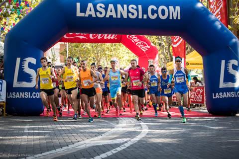 Setena Sansi Bellaterra 5 i 10km . Cursa de La Diada.