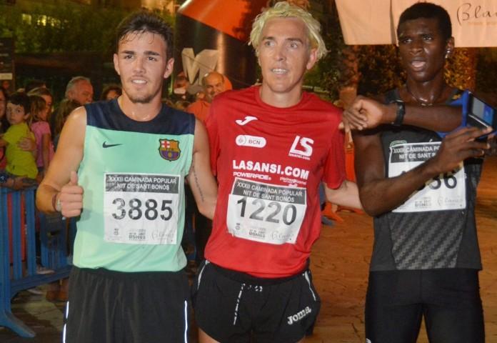 Blanco gana la 32a edición de la carrera San Bonosi