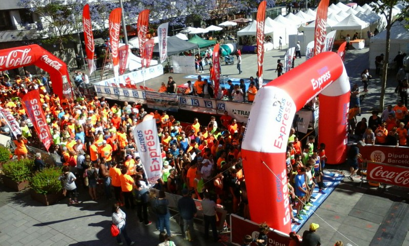 1.200 inscrits a la 1a ruta solidaria per l'Ela Correos Express 19/06/16