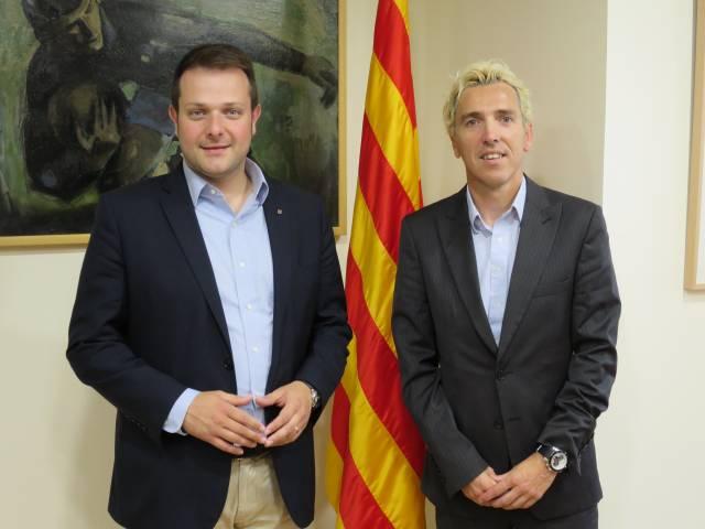 El secretari general de l'Esport coneix el projecte esportiu de La Sansi