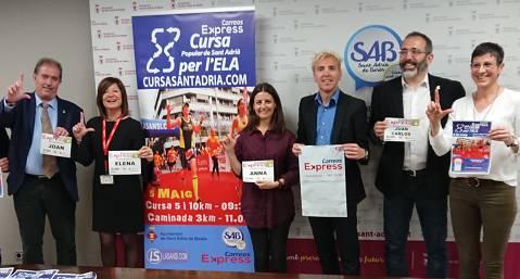 Presentació de la quarta Cursa popular per l'ELA