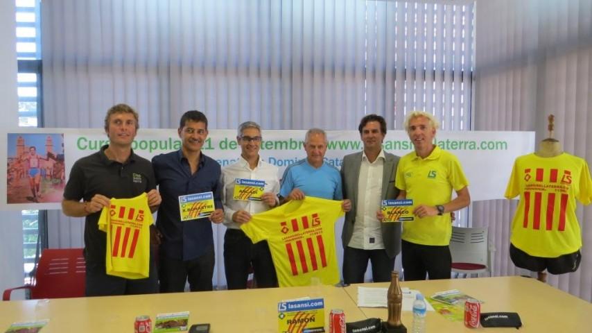 La Sansi y Bellaterra homenaje Domingo Catalán en la carrera de la Diada