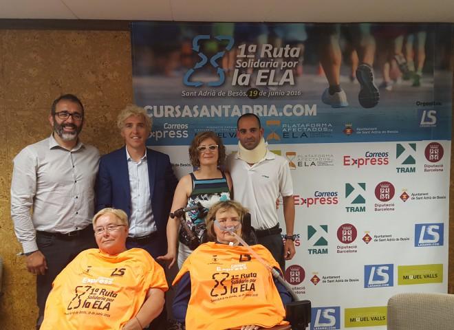 Ja son més de 1.000 inscrits a la 1a ruta solidaria per l'Ela 19/06/16