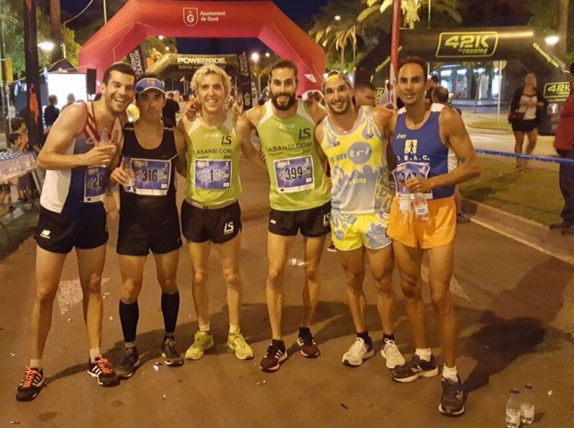 José Luis Blanco del Club La Sansi gana los 5km Gava Night Run