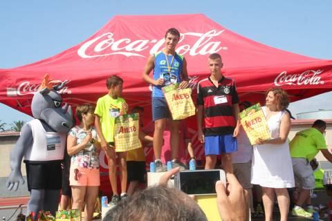 Fotografías km 5, carreras infantiles, actos de celebración y premiación