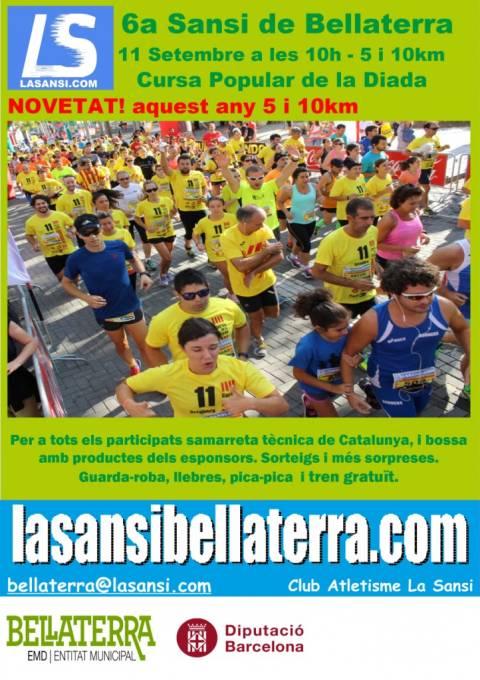 6ª Sansi popular de la diada en Bellaterra 11/09/17