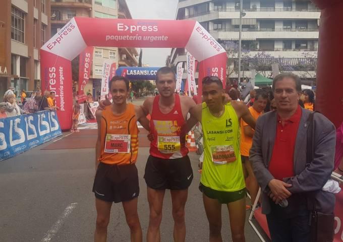 Resultats 2a cursa Correus Express Sant Adrià per la Ela de 5 i 10km 04/06/17