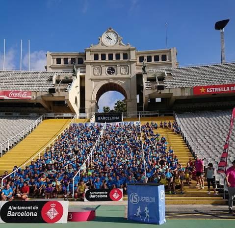 905 inscritos en Macroentreno de la Carrera de la Mercè de hoy en el estadio Olímpico