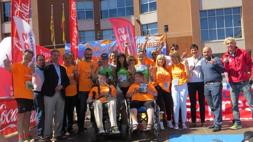 1.200 inscritos en la 1a ruta solidaria per l'Ela Correos Express 19/06/16