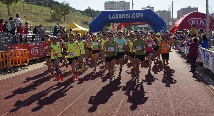 Radouane Nour y Parrado ganan los 10km en La 6ª Sansi Sant Feliu de Llobregat