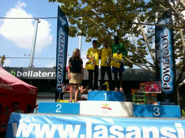Ilias Fifa y Eva Arias se imponen en La 1a Sansi de Bellaterra  11/09/2012