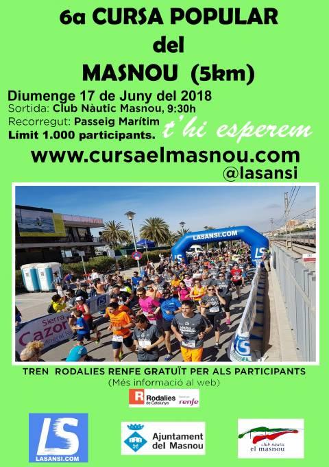Inscripciones abiertas a la 6ª Carrera popular de El Masnou