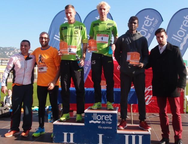 Blanco y Quilez ganan la Cursa de Nadal de Lloret de Mar