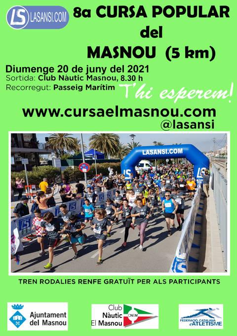8a Cursa Popular del Masnou 5km 20/06/21