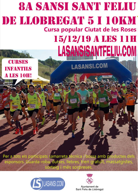 8ª Sansi St. Feliu de Llobregat 5 i 10km