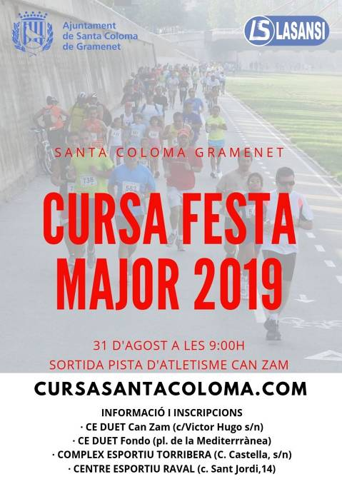 Cursa Festa Major Santa Coloma Gramenet
