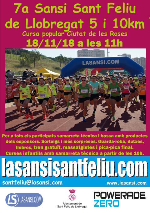 7a Sansi de Sant Feliu de Llobregat de 5 y 10km 18/11/18