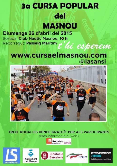 3a carrera popular del Masnou de 5km 26/04/15