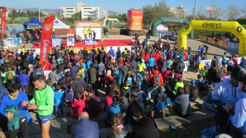 Més de 1.400 atletes prenen Viladecans