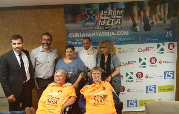 Presentación 1a Ruta Solidaria por la ELA