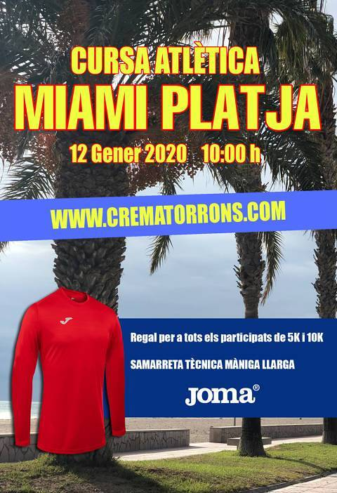SOLIDARITY RACE CREMA-TORRONS MIAMI BEACH
