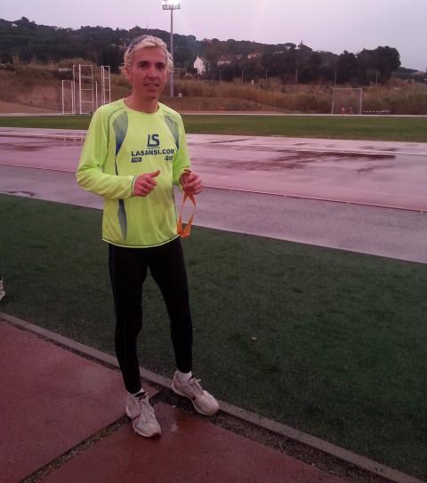 Blanco campeón catalán de 10.000 metros en Mataró