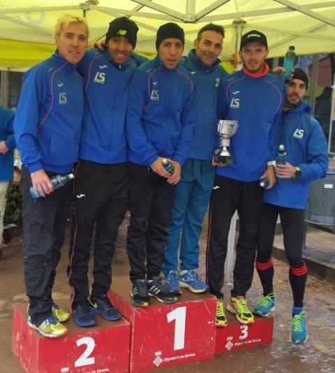 Un equipo gerundense gana el campeonato catalán de cross 13 años después (La Sansi)