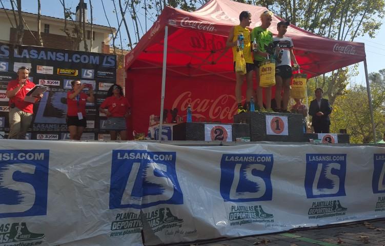 5a Carrera de la Diada en Bellaterra, la carrera más participativa de Cataluña.