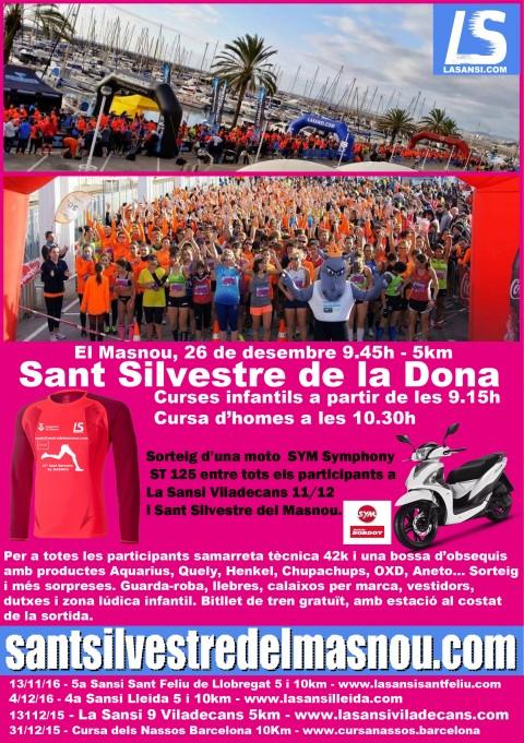 Inscripcions obertes a la 37ª Sant Silvestre del Masnou 5km - 26/12/16