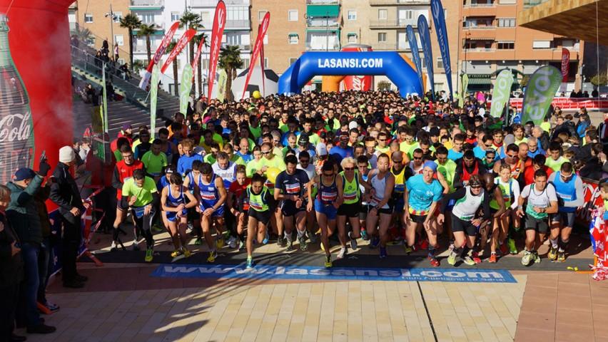 Els africans Ilias Fifa i Fatima El Ouaja guanyen la 1a Sansi de Lleida de 5km amb èxit, més de 1.700 arribats