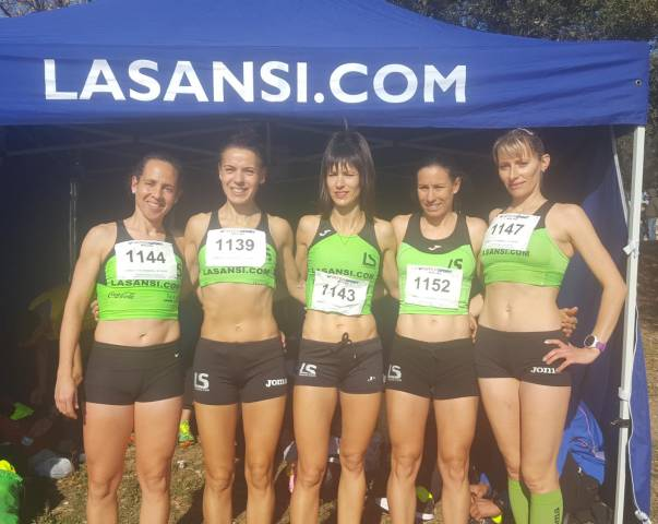 Los atletas del clubLa Sansi, han finalizado subcampeones en hombres y 3as en mujeres, el campeonato catalán de cross corto