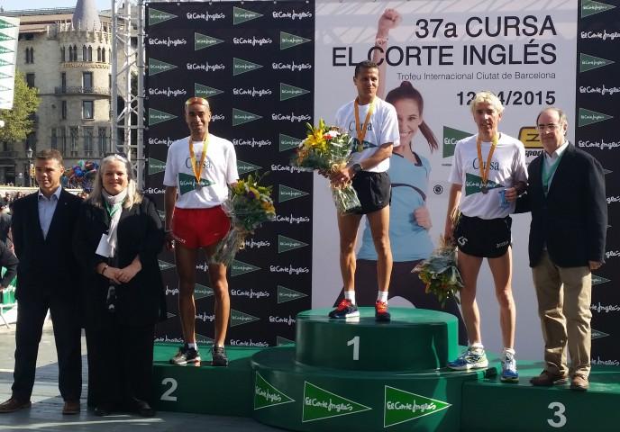 2 atletes del Club La Sansi al pòdium de la 37a Cursa del Corte Inglés