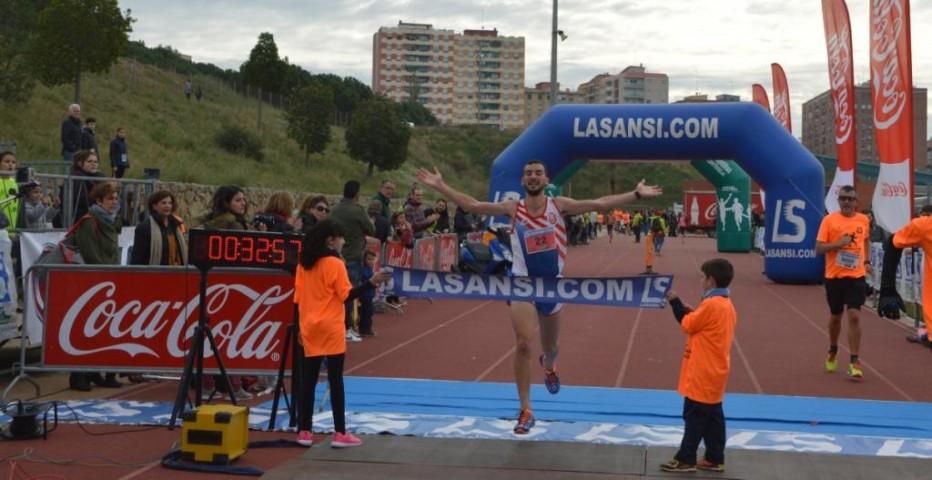 Chouati y Parrado ganan en Sant Feliu