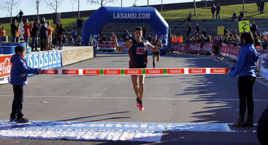 Carrera de 5km con más nivel español en La Sansi de Viladecans. campeonato catalán de 5km ruta 12/13/15