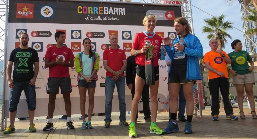 Blanco gana la carrera Correbarri