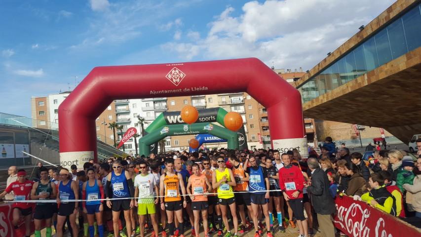 La 4a edició de La Sansi de Lleida aplega 600 inscrits i corona com a guanyadors Víctor Puyelo i Joana Tomé als 10km i Sergi Nunes i Mari Sanfeliu als 5km