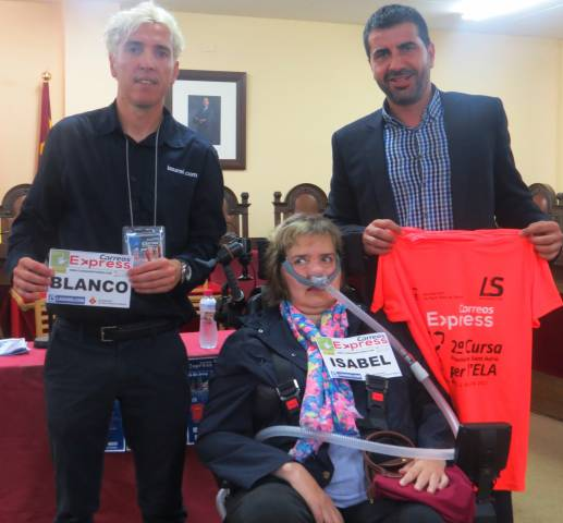 Presentada la II Cursa Popular de Sant Adrià per l'ELA