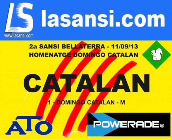 La Sansi i Bellaterra homenatge Domingo Catalán en la cursa de la Diada