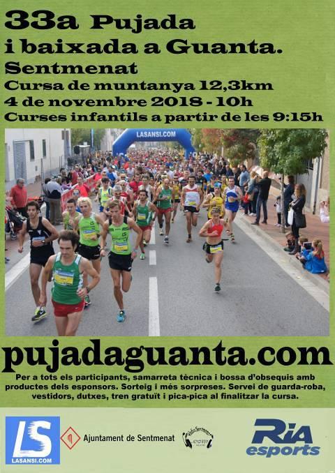 32a Subida y bajada a Guanta (Sentmenat) 12,3km 05/11/17
