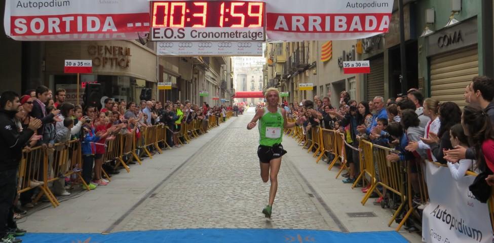 Blanco gana la 36ª edición de los 10km del Carrer Nou de Girona