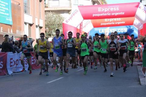 Gran matinal en la 4ª carrera Correos Express Sant Adrià por la Ela con 1.265 inscritos solidarios