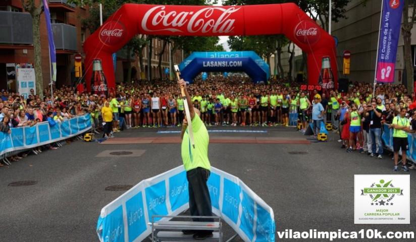 Carrera vila olimpica mejor carrera de españa 2013 en los premios finixer