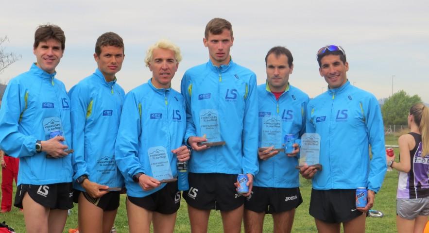 La Sansi gana por equipos maratón por relevos de Sant Joan Despí